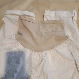 Motherhood size M White Maternity pants